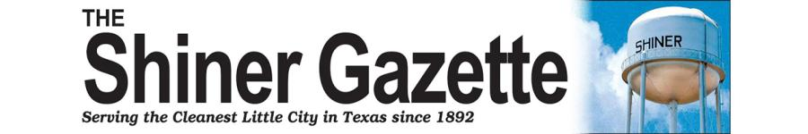 Shiner Gazette Headline Banner