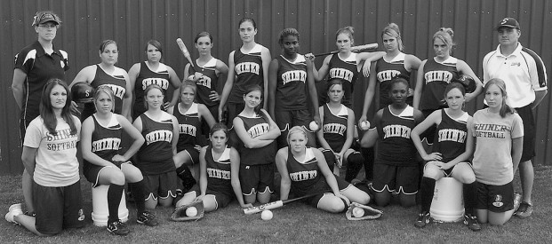 2007 Lady Comanches Softball Team